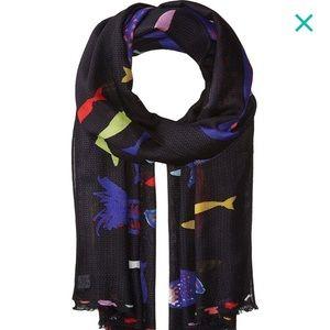 Vera Bradley soft fringe scarf